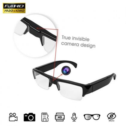 HD300 Half Frame Glasses Spy Hidden Pinhole Camera