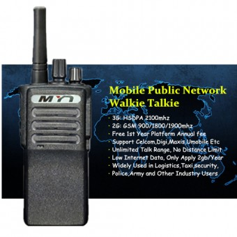 MYT V118 Global Mobile Public Network Walkie Talkie - 9999KM