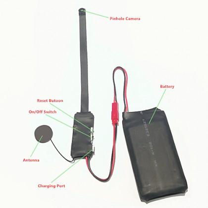 KALAY S08 WiFi Module P2p Hidden Pinhole Spy Camera