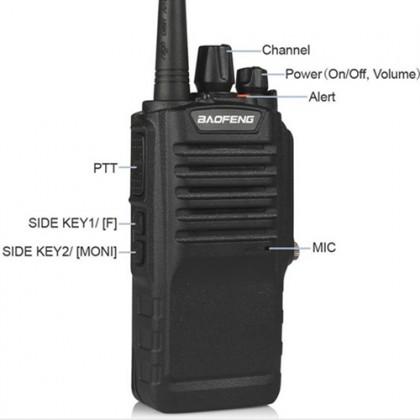 BAOFENG BF-9700 UHF 8W IP67 Waterproof Walkie Talkie - 8KM