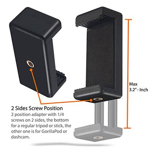 2-in-1 Tabletop Stand & Pistol Grip Mini Tripod