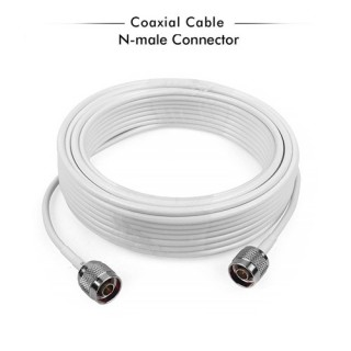 5C-FB 75ohm N Male To N Male Coaxial Cable - 20 Meter