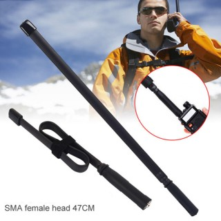 47CM CS Tactical SMA Female VHF/UHF Walkie Talkie Antenna