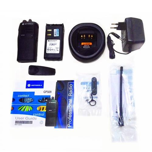 MOTOROLA GP328 VHF 4W Walkie Talkie - 5KM