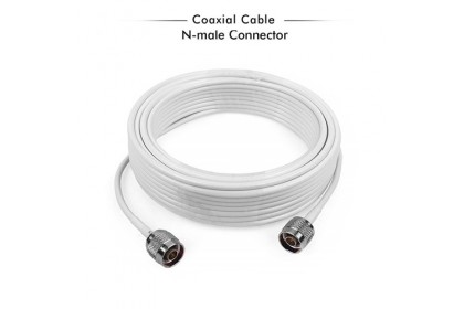 5C-FB 75ohm N Male To N Male Coaxial Cable - 1 Meter