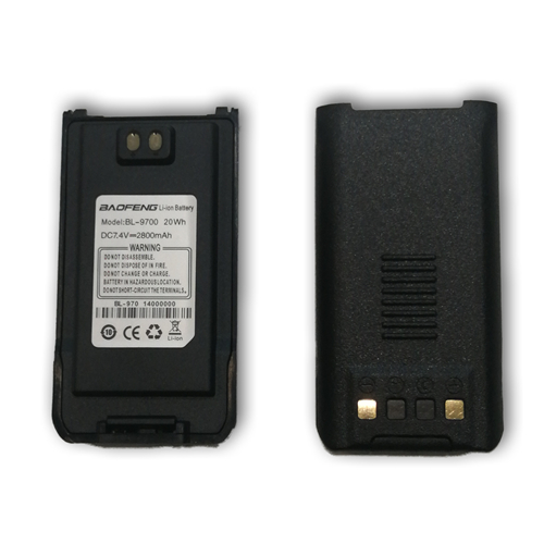 BAOFENG BF-9700 BL-9700 2800mAh Li-ion Battery