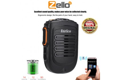 INRICO B01 Bluetooth ZELLO Walkie Talkie PTT Speaker Microphone