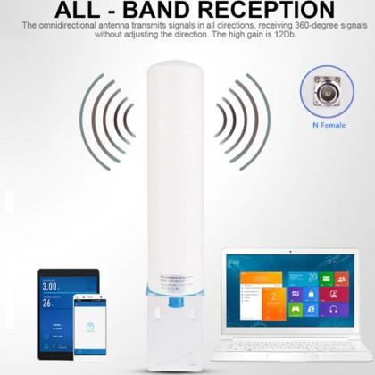 12dBi 700~2700mhz N Female Omni-Directional Antenna