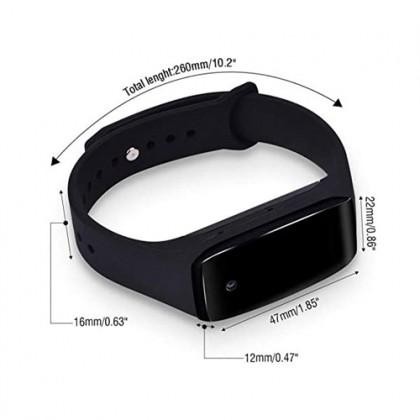 D3 Wearable Bracelet Voice Record Spy Hidden Pinhole Camera