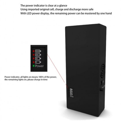 2.4GHz+5.2GHz+5.8GHz WiFi Bluetooth Hotspot Portable Jammer